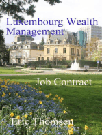 Luxembourg Wealth Management Job Contract: Luxembourg Wealth Management, #2