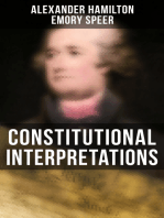 Constitutional Interpretations