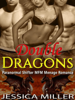 Double Dragons (Paranormal Shifter MFM Menage Romance)