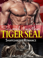 Saved By The Tiger SEAL (Shapeshifter Romance)