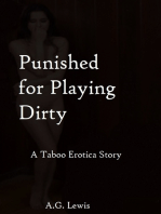 Punished for Playing Dirty, a Taboo Erotica Story