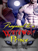 Pregnant to a Werewolf Prince (Paranormal Wolf Shifter Romance)