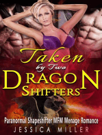 Taken By Two Dragon Shifters (Paranormal Shapeshifter MFM Menage Romance)