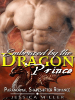 Embraced by the Dragon Prince (Paranormal Shapeshifter Romance)