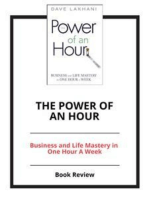 The Power of an Hour
