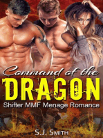 Command of the Dragon (Shifter MMF Menage Romance)