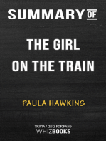 Summary of The Girl on the Train For Fans by Paula Hawkins | Trivia/Quiz for Fans