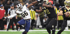 Rams' Coaches Support Slumping Peters