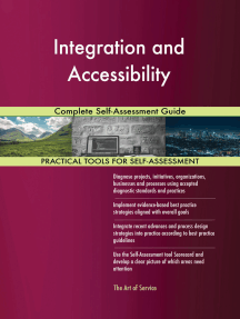 Integration and Accessibility Complete Self-Assessment Guide