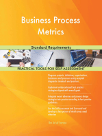 Business Process Metrics Standard Requirements