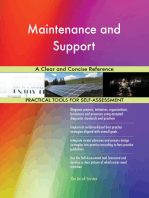 Maintenance and Support A Clear and Concise Reference