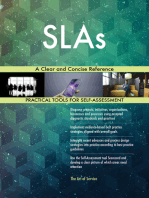 SLAs A Clear and Concise Reference