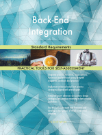 Back-End Integration Standard Requirements