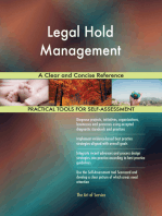 Legal Hold Management A Clear and Concise Reference