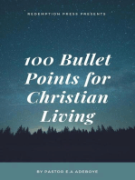 100 Bullet Points For Christian Living