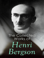 The Collected Works of Henri Bergson