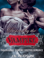 Desired by the Vampire - Paranormal Vampire Shifter Romance