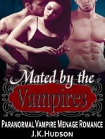 Mated by the Vampires - Paranormal Vampire MFM Menage Romance
