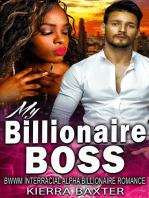 My Billionaire Boss - BWWM Interracial Alpha Billionaire Romance