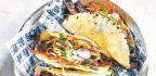 Korean Grilled Steak Tacos with Kimchee Slaw