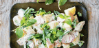 Potato Salad with Green Beans, Peas & Buttermilk-Herb Dressing