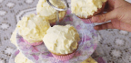 Lemon Cupcakes WITH LEMON CURD & CREAM CHEESE ICING
