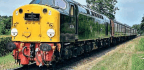 Diesel Power Replaces Steam As Heatwave Hits Heritage Railways And Main Line Tours