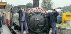 Crowd Bids Farewell To Devon's Own Man Of Steam