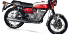 SUZUKI GT 250 Ram Air Models 1972-1975