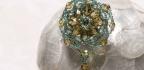 Ornate Medallion Brooch