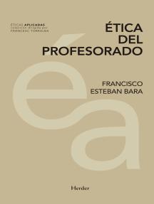 Ética del profesorado