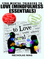 1700 Mental Triggers to Love (Mindfulness Essentials)