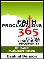 Faith Proclamations 365 For All Year Round Prosperity