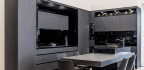 Contrasting Kitchens