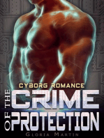 The Crime of Protection - Scifi Alien Cyborg Romance