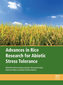 Advances in Rice Research for Abiotic Stress Tolerance
