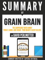 "Summary Of ""Grain Brain"