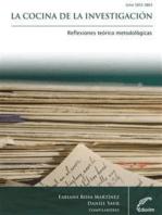 La cocina de la investigación: Reflexiones teórico metodológicas