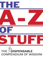 The A-Z of Stuff