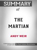 Summary of The Martian