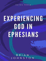 Experiencing God in Ephesians