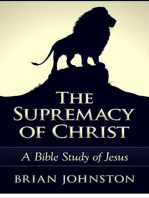 The Supremacy of Christ