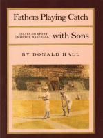 Fathers Playing Catch with Sons