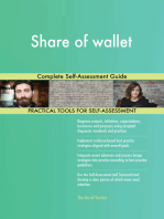 Share of wallet Complete Self-Assessment Guide