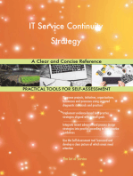 IT Service Continuity Strategy A Clear and Concise Reference