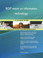 ROIT return on information technology A Complete Guide