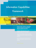 Information Capabilities Framework Complete Self-Assessment Guide