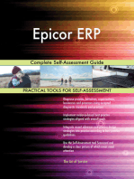 Epicor ERP Complete Self-Assessment Guide