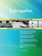 Subrogation Complete Self-Assessment Guide