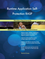 Runtime Application Self-Protection RASP Standard Requirements